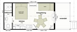 Floor Plan Banksia Plus