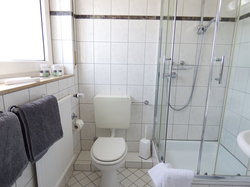 Hotel Alt Büttgen double room standard shower