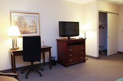 Amenities - Television and Desk