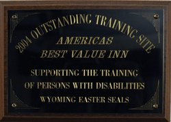 Training Site Award