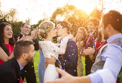 Shutterstock Wedding Kiss