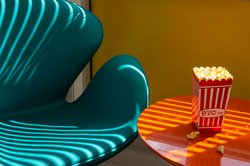 Popcorn With Chair