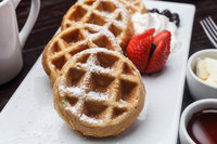 Waffles at the Holiday Inn New Orleans Westbank