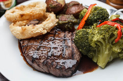 Steak dinner at the Holiday Inn New Orleans Westbank