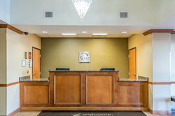 Front Desk of Sleep Inn and Suites Shepherdsville