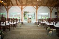 Glasbern Wedding Indoor Wedding Ceremony