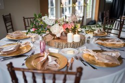 Glasbern Wedding Table Setting