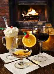 Tom's Fireplace Drinks