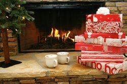 Fireplace W Presents Small