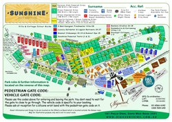 BIG4 Sunshine Park Map