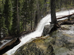 Water Fall at Sweat House Creek