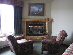 Deluxe Spa Suite Fireplace