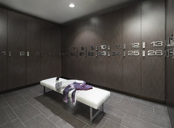 Fitness/Spa Locker Area