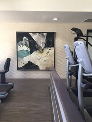 Health Club Original Art