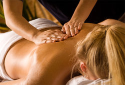 Relaxing massage therapy services
