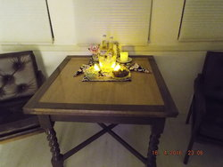 Candle Lit table~Romance package