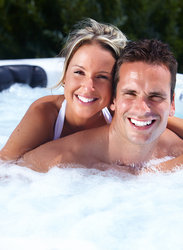 Bigstock Happy Couple Relaxing In Hot T