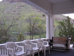 Riverside Inn Porch