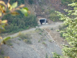 A Old Mine Adit on a local mountain