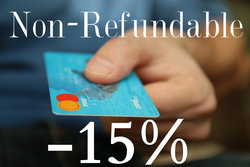 Non Refundable Discount -15%
