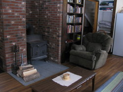 Carmel Cottage Living Room Hearth