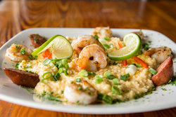 Grilled Shrimp & Grits