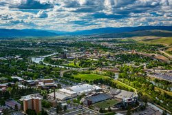 View Of Missoula From Mount Sentinel