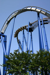 Carowinds Amusement Park in Charlotte, North Carolina