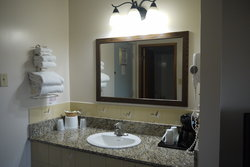 Family Queen Updated Bathroom Sink And Counter