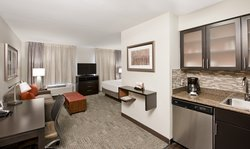 Open Floor Plan Hotel Room in Charlotte, North Carolina