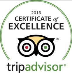 Tripadvisor - Certificate Of Excellence Winner