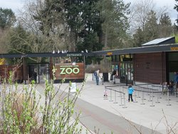 Woodland Park Zoo Entrance