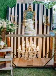 Cake And Chandelier