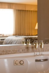 Honeymoon Suite Champagne Whirlpool Bath