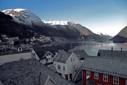 View from Hardanger Hotel