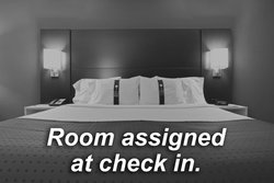 Room assigned upon check in and upon availability.