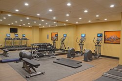 Fitness Center has been expanded and features life fitness equipm