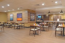 Restaurant remodel features a rustic design and new buffet