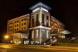 Cambria Hotel & Suites Roanoke Nighttime Exterior