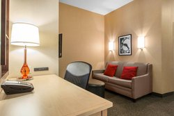 Suite Living Area with Desk and Couch