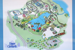 Upper Clements Amusement Park Map