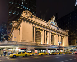 Grand Central Station Outside Night