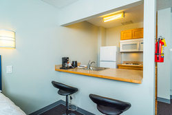 Kitchenette Area in Suite Room