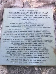 Cottle Plaque