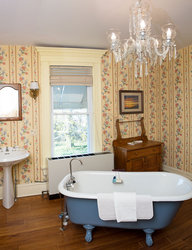 Water View Chandelier Suite Bathroom, Also Has Shower