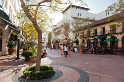 California Restaurants And Shopping
