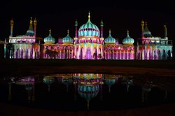 Royal Pavillion During Brighton Festival