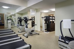 24 Hour fitness center at Holiday Inn Express Anchorage