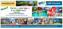 BIG4 Sunshine Voucher