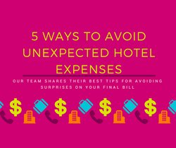 Fb Ways To Avoid Unexpected Hotel Expenses